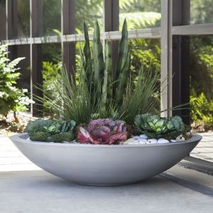 Large Bowl Planters Customizable