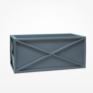 Xander Fiberglass Rectangle Planter