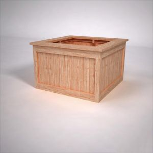 Corningstone Cedar Square Planters