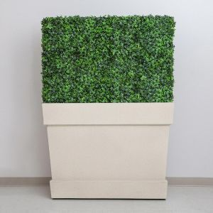 Knox Fiberglass Tapered Rectangle Planter