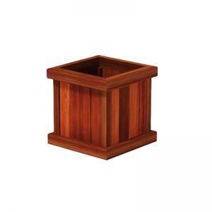 Mendocino Redwood Square Planters
