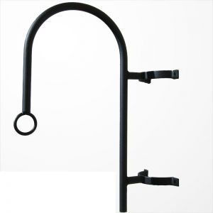 One-Way Hook Style Hanging Basket Bracket
