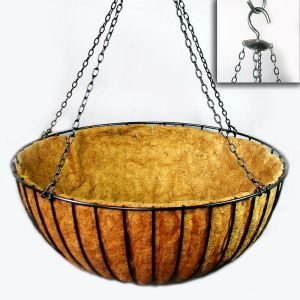 "42in. XL ""Mega"" Hanging Flower Basket, Commercial Strength 