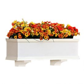 """XL Laguna Premier Window Boxes w/ """"Easy Up"""" Cleat Mounting System"""
