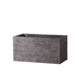 Verso Rectangle Fiberstone Planter