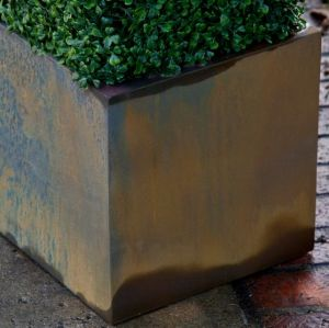 ArmoreCoat Real Metal Square Planters