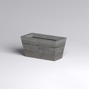 Baxter Fiberglass Tapered Rectangular Planter