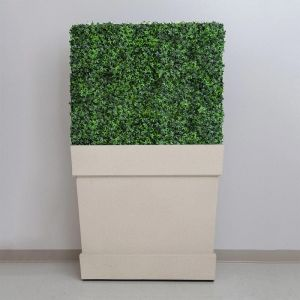 Knox Fiberglass Tapered Square Planter