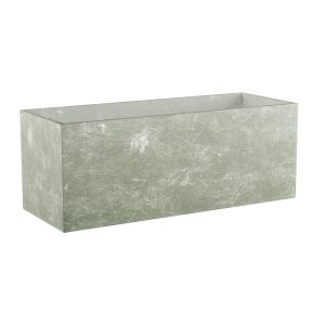 Rectangular Commercial Fiberglass Planter Liner