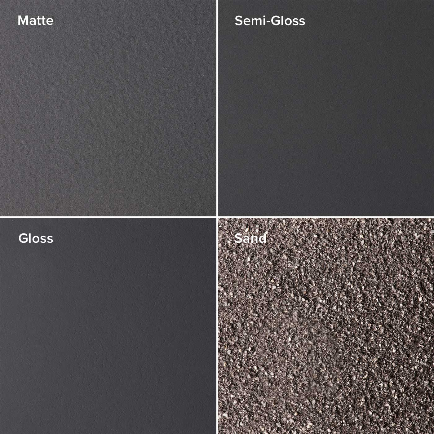 Charcoal Finishes