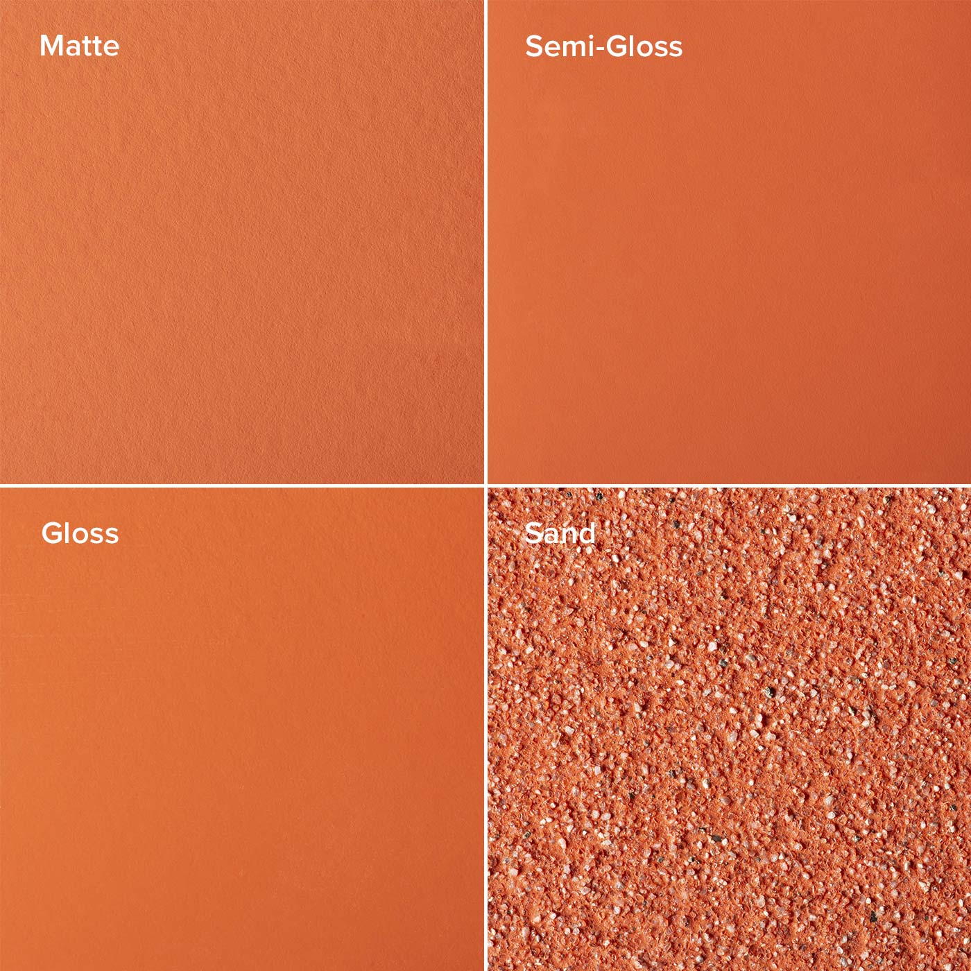 Persimmon Finishes